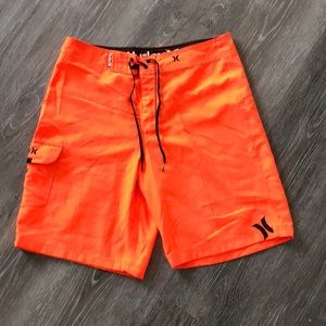 Men's Hurley Bright Orange Board Shorts